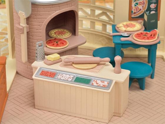 お店シリーズ「森のピザ屋さん」商品紹介
