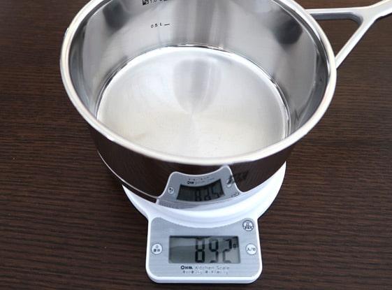 ソースパン16cm重さ