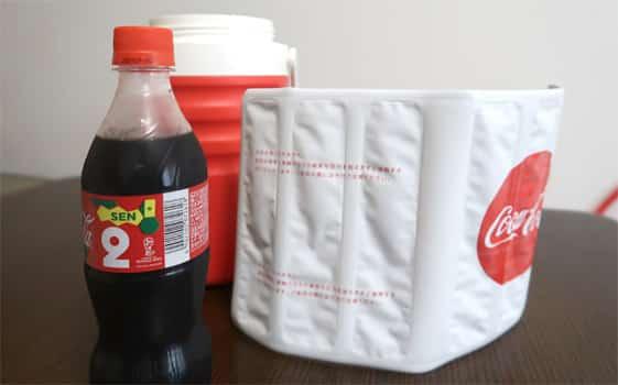 コカコーラナンバーボトルチャレンジで当選した「アイスコールドメーカー」を使ってみた結果