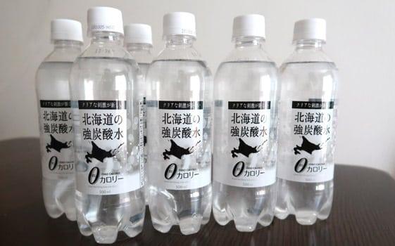 ツルハの炭酸水「北海道の強炭酸水」安くて炭酸強くて飲みやすい!炭酸水好きも納得!