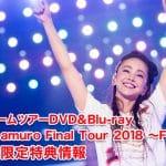 【安室奈美恵】ラストドームツアーDVD&Blu-ray『namie amuro Final Tour 2018 ~Finally~』予約や限定特典・最安値