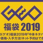 GEO(ゲオ)福袋2019年「中身ネタバレ」予約や価格紹介!ネット予約はできるの?