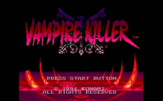 【メガドライブミニ】VAMPIRE KILLER(バンパイアキラー)【攻略サイト】