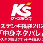 ケーズデンキ福袋2020年「中身ネタバレ」価格や入手方法は?ネット予約はいつから?