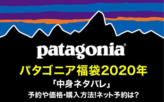 パタゴニア福袋2020年「中身ネタバレ」予約や価格・購入方法!ネット予約は?